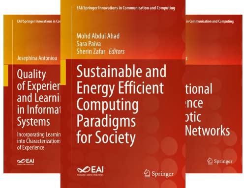 EAI/Springer Innovations in Communication and Computing (51-75) (25 Book Series)