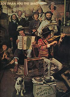 Bob Dylan and The Band: The Basement Tapes. 24 Songs Arranged for Piano and Guitar by Milton Okun.