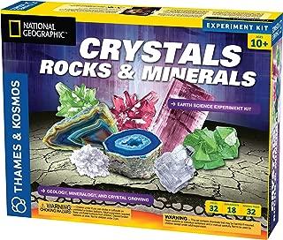 Thames & Kosmos Earth Science Crystals, Rocks, and Minerals