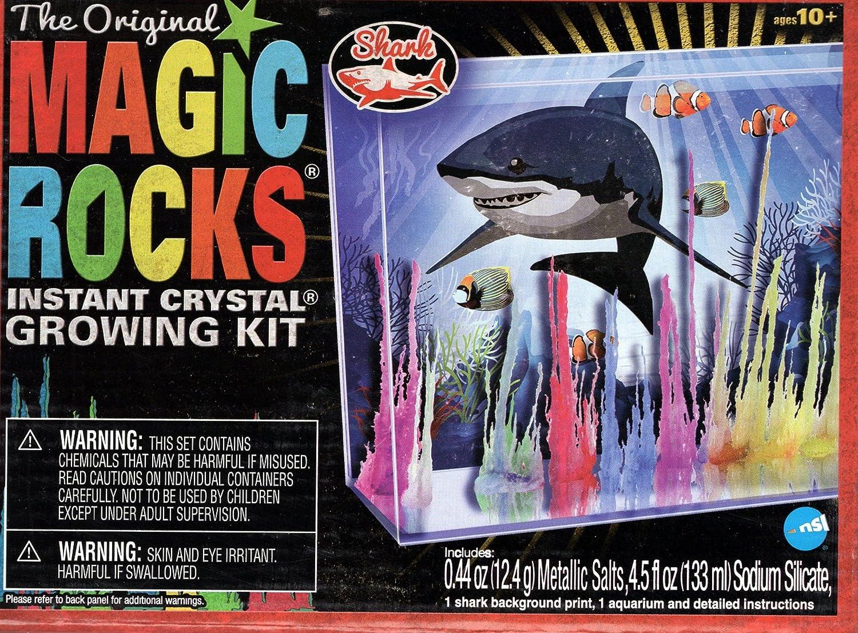 Fort Worth Mall Magic Rocks Crystal Growing Shark - Max 42% OFF Kit