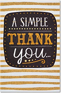 American Greetings Thank you Card (A Simple Thank You)