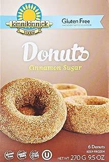 Kinnikinnick, Donuts Cinnamon Sugar, Gluten Free, 9.5 oz (Frozen)