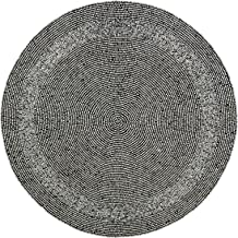 ShalinIndia Silver Beaded Placemats Home Decorations Party Handmade by Artisan