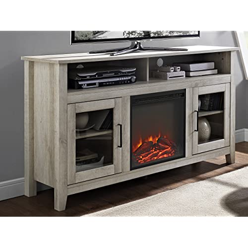 huge discount c3137 e4db6 Entertainment Center with Electric Fireplace: Amazon.com
