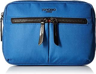 Knomo Luggage Women's Crossbody Bag Ultra Lightweight Convertible X-Body, Nautical Blue, One Size