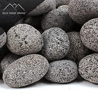 Blue Ridge Brand trade; Lava Rock - 10-Pound Tumbled Lava Stone Assortment for Fire Pit - 2