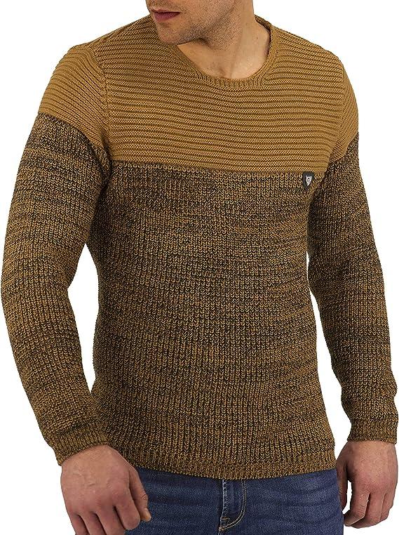 CRSM Karls People Herren-Strickpullover Kapuzenpullover Streetwear Menswear Autumn//Winter Knit Knitwear Sweater