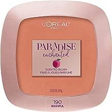 L'Oréal Paris Makeup Paradise Enchanted Scented Blush, Bashful, 0.31 Ounce