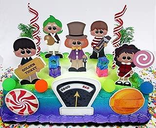 willy wonka cake decorations