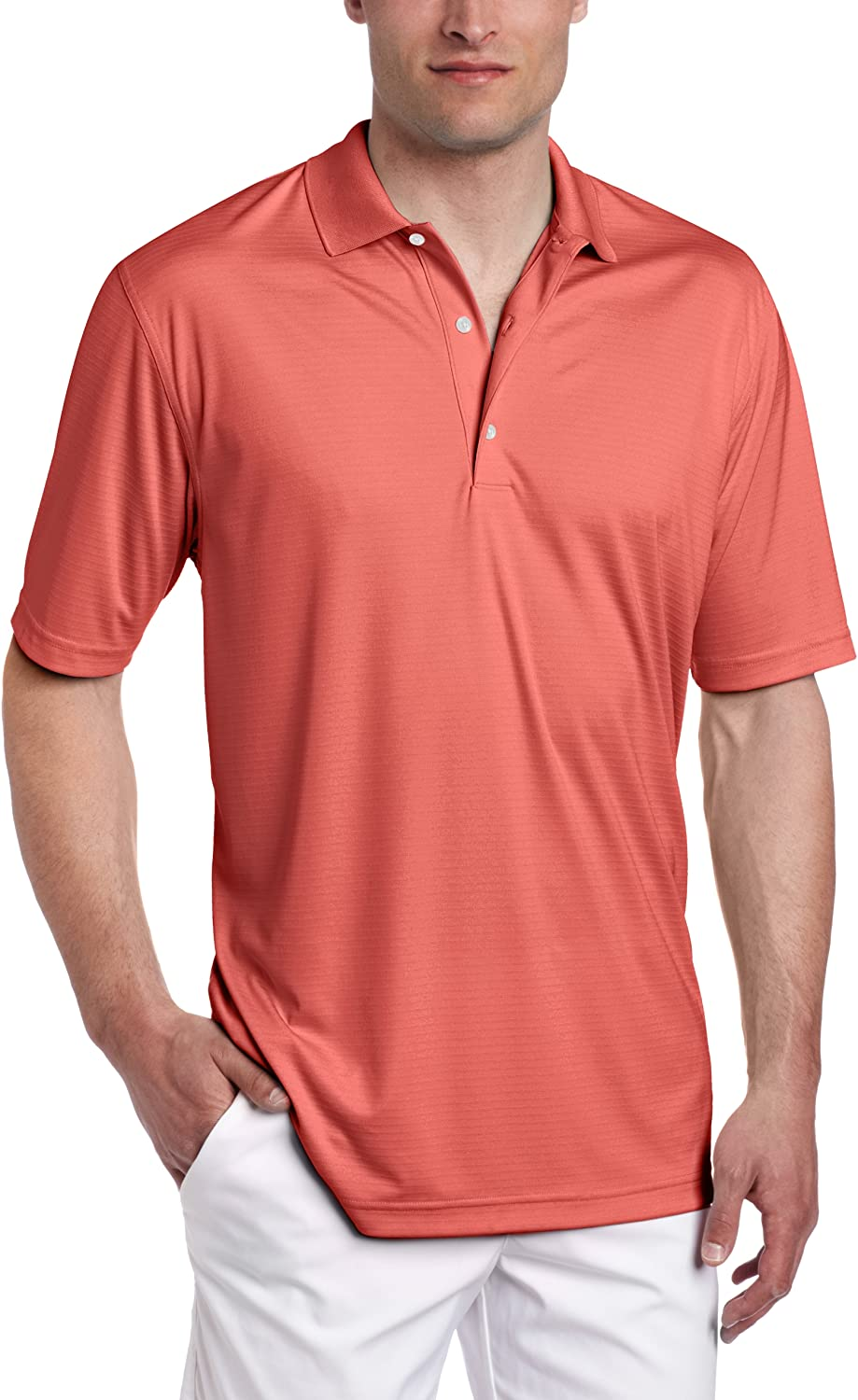 Greg Norman Louisville-Jefferson County Mall Collection Men's ML75 Interlock Max 65% OFF Solid Textured Polo