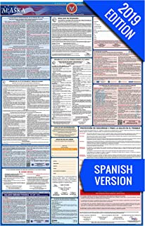 2019 Alaska (Spanish) Labor Law Poster – State, Federal, OSHA Compliant – Single Laminated Poster