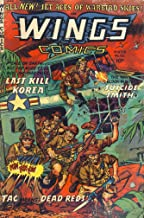 Wings Comics #122