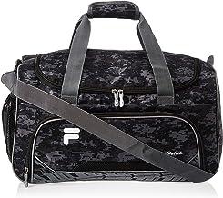 Fila Source Sm Travel Gym Sport Duffel Bag, Black Digi Camo, One Size