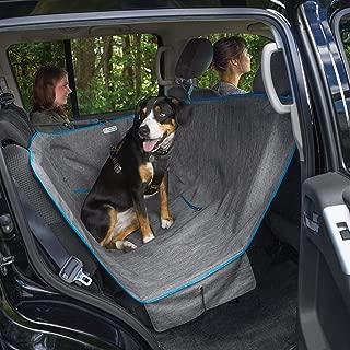 Kurgo Dog Hammock Car Seat Cover for Pets   Pet Seat Cover   Car Hammocks for Dogs   Water-Resistant   Wander   Heather   Journey   Half   Coast to Coast   Cars, Trucks, SUVs   Black   Grey   Khaki