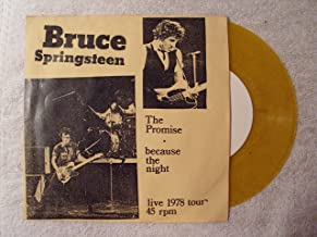 the promise / because the night 45 rpm single