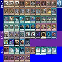 Yu-Gi-Oh! YUGIOH Tournament Ready Six Samurai Deck with Complete Extra & Side Deck and Exclusive Phantasm Gaming Token + a Deck Box & 100 Sleeves