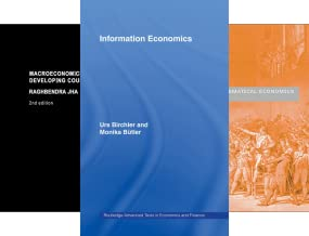 Routledge Advanced Texts in Economics and Finance (27 Book Series)