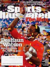 Sports Illustrated Magazine December 14, 2015, CLEMSON'S DESHAUN WATSON Cover, College Football Playoff Preview