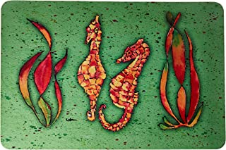 "Caroline's Treasures 8565-JCMT""Seahorse"" Kitchen or Bath Mat, 24"" by 36"", Multicolor"