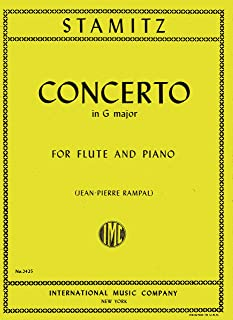 Stamitz - Concerto in G Major for Flute and Piano