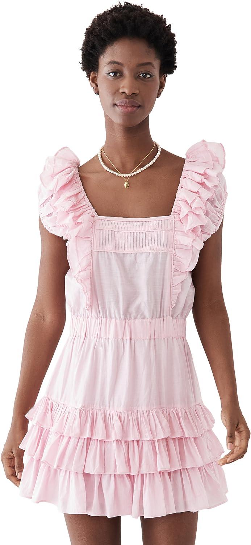 LOVESHACKFANCY Women's Ivoire Dress