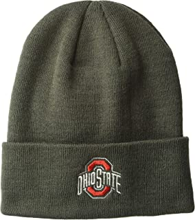 Top of the World NCAA Men's Cuffed Knit Hat Charcoal Icon