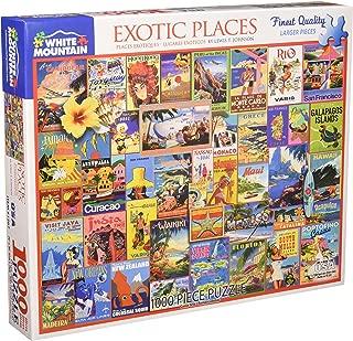 White Mountain Puzzles 1267 Exotic Places