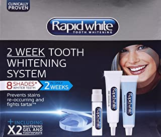 RAPID WHITE 2 Weeks Tooth Whitening System