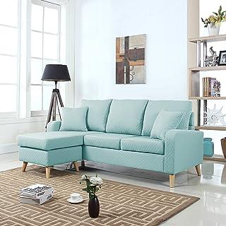 Amazon.com: Divano Roma Furniture - Sofas & Couches / Living Room ...