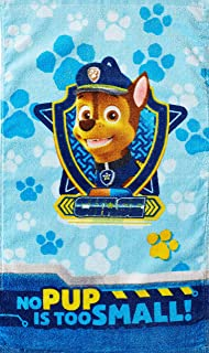 Nickelodeon Paw Patrol Rescue Crew Hand Towel Measures 15 x 26 inches