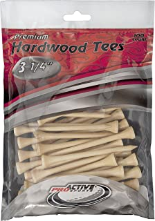 ProActive Sports ProActive Tees 3-1/4-Inch-100 Pack (Natural)