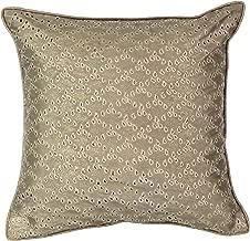 Beautyrest Sandrine Eyelet Decorative Pillow, 16 x 16, Gold
