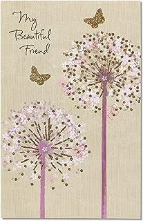American Greetings Birthday Card for Best Friend (Dandelions)