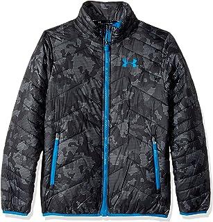 Under Armour ColdGear Reactor chaqueta de los niños, Niños, Steel/Cruise Blue, medium