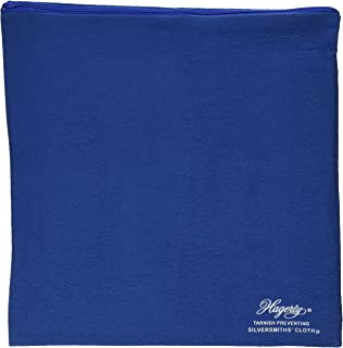 Hagerty 19400 9-by-12-inch Zippered Holloware Bag, Blue