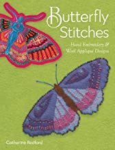 Butterfly Stitches: Hand embroidery & wool appliqué designs
