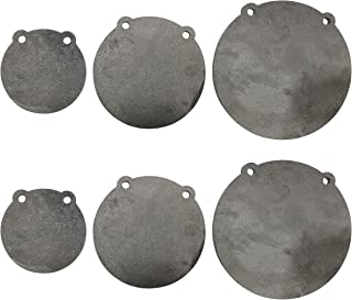 """(2) Sets of Titan AR500 Steel Shooting Targets 6"""" 8"""" 10"""" x 3/8"""" Thick"""