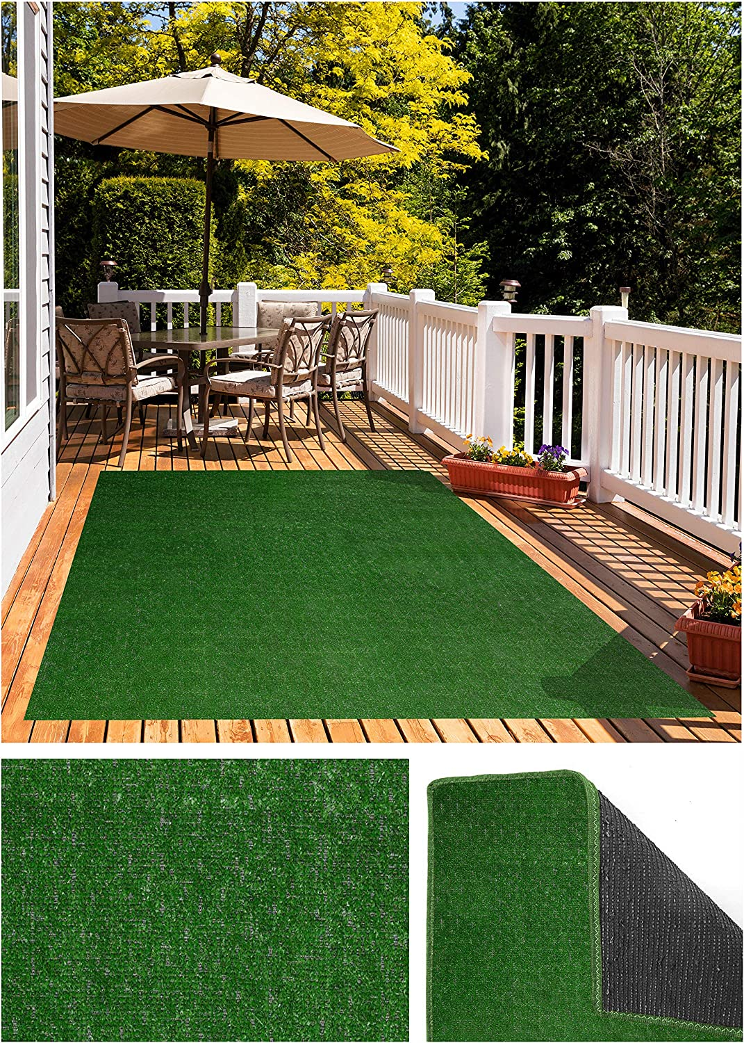 Price reduction Koeckritz Green Pasture Indoor - Outdoor Max 73% OFF Turf Artificial A Grass