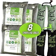 MYTHO Nature Fresh Air Purifier Bags, Bamboo Charcoal Air Purifying Bags, Activated Charcoal Air Purifying Bag Odor Elimin...