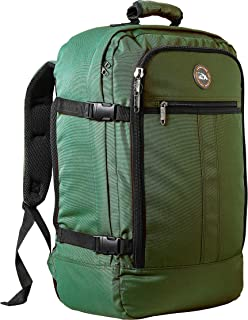 Cabin Max Carry On Travel Backpack Flight Approved 44L 56x36x23cm (Hunter Green)