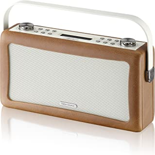View Quest 'Hepburn' Bluetooth Audio System with DAB+ Radio - Brown