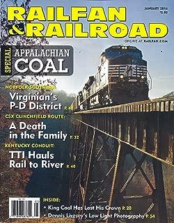 Railfan & Railroad Magazine (January 2016)