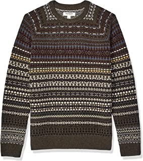 Amazon Brand - Goodthreads Men's Lambswool Fairisle...