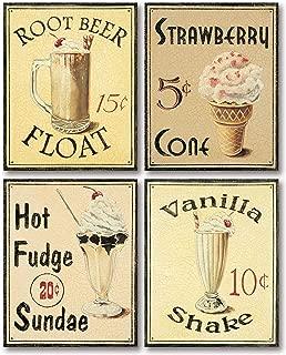 PosterArtNow Malt Shop III Shake Art Print Poster by Catherine Jones, 11 x 14