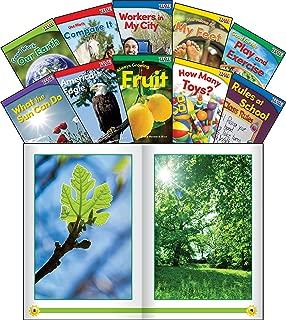 Teacher Created Materials - TIME for Kids Informational Text Set 2 - 10 Book Set - Grade K