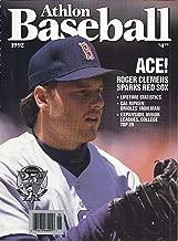 Athlon Baseball 1992 Magazine (Volume 5 - Cover: Roger Clemens)