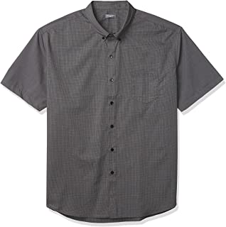 Men's Flex Short Sleeve Button Down Check Shirt