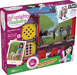 K'NEX Mighty Makers – Director's Cut Building Set – 308 Pieces – Ages 7+ Construction Educational Toy