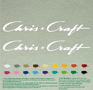 chris craft boat decals