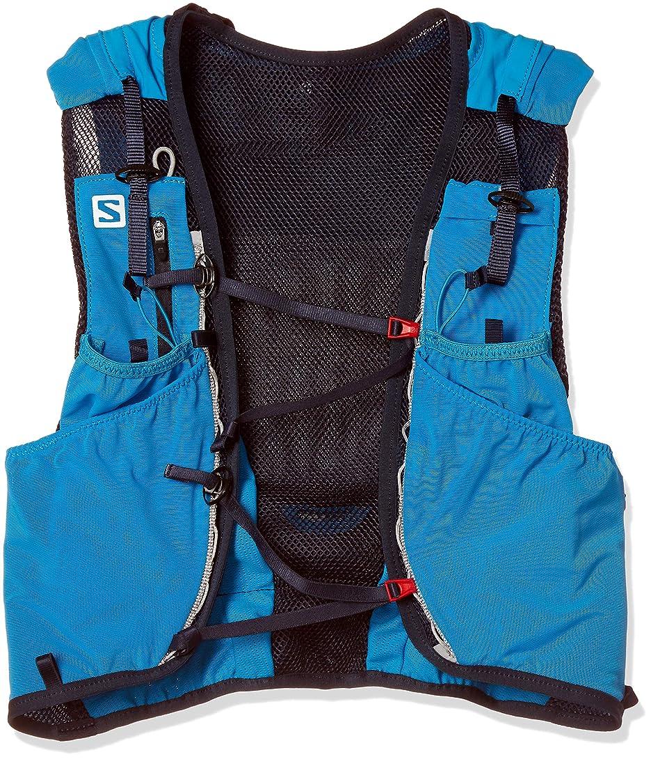 チーター市民めったにSALOMON サロモン トレイルランニング ベスト バックパック ADV SKIN 12 SET L40410400 ブルー